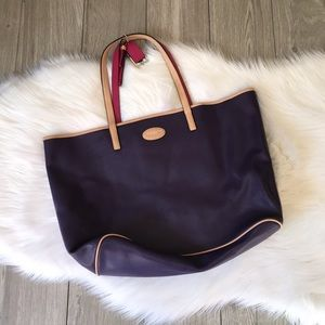 Coach Purple Shoulder Bag